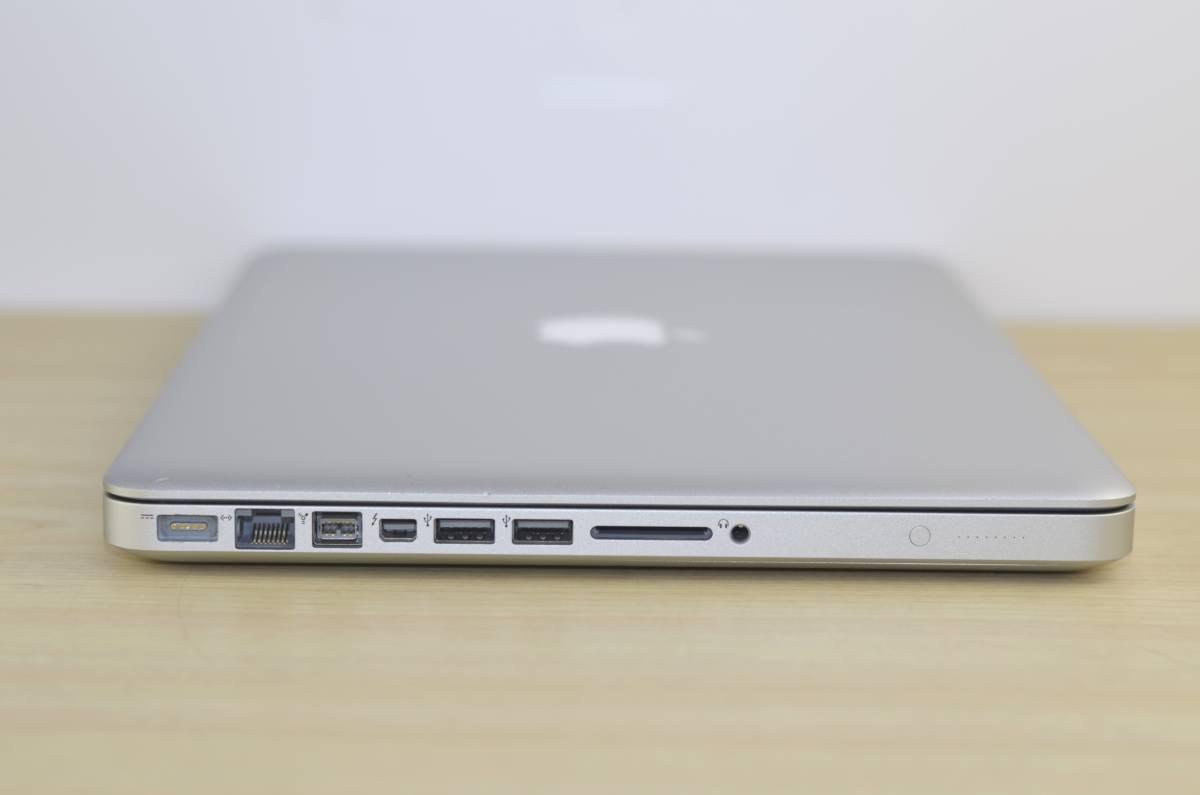 1円~おまけ付き!MacBook Pro (13-inch, Mid 2012)Core i5 メモリ:4GB HDD:500GB MD101J/A 充放電回数:24回 Magic Mouse付!転売OK_画像9