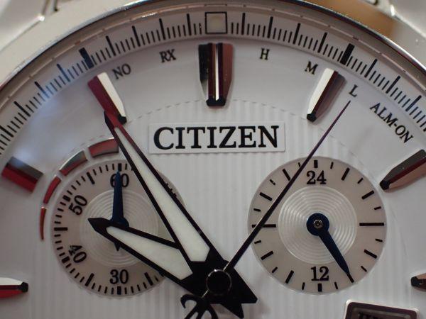 シチズン エクシード エコドライブ 電波時計 H610-TO17100 男性用 CITIZEN EXCEED _画像8