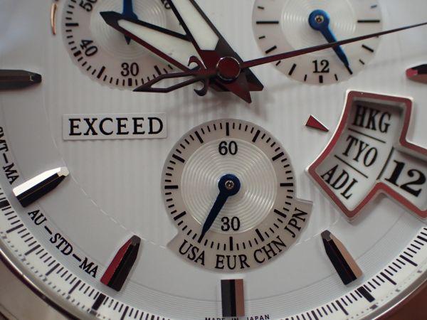 シチズン エクシード エコドライブ 電波時計 H610-TO17100 男性用 CITIZEN EXCEED _画像9