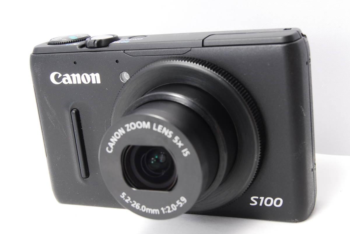 〓人気カメラ〓キヤノン Canon PowerShot S100 _画像2