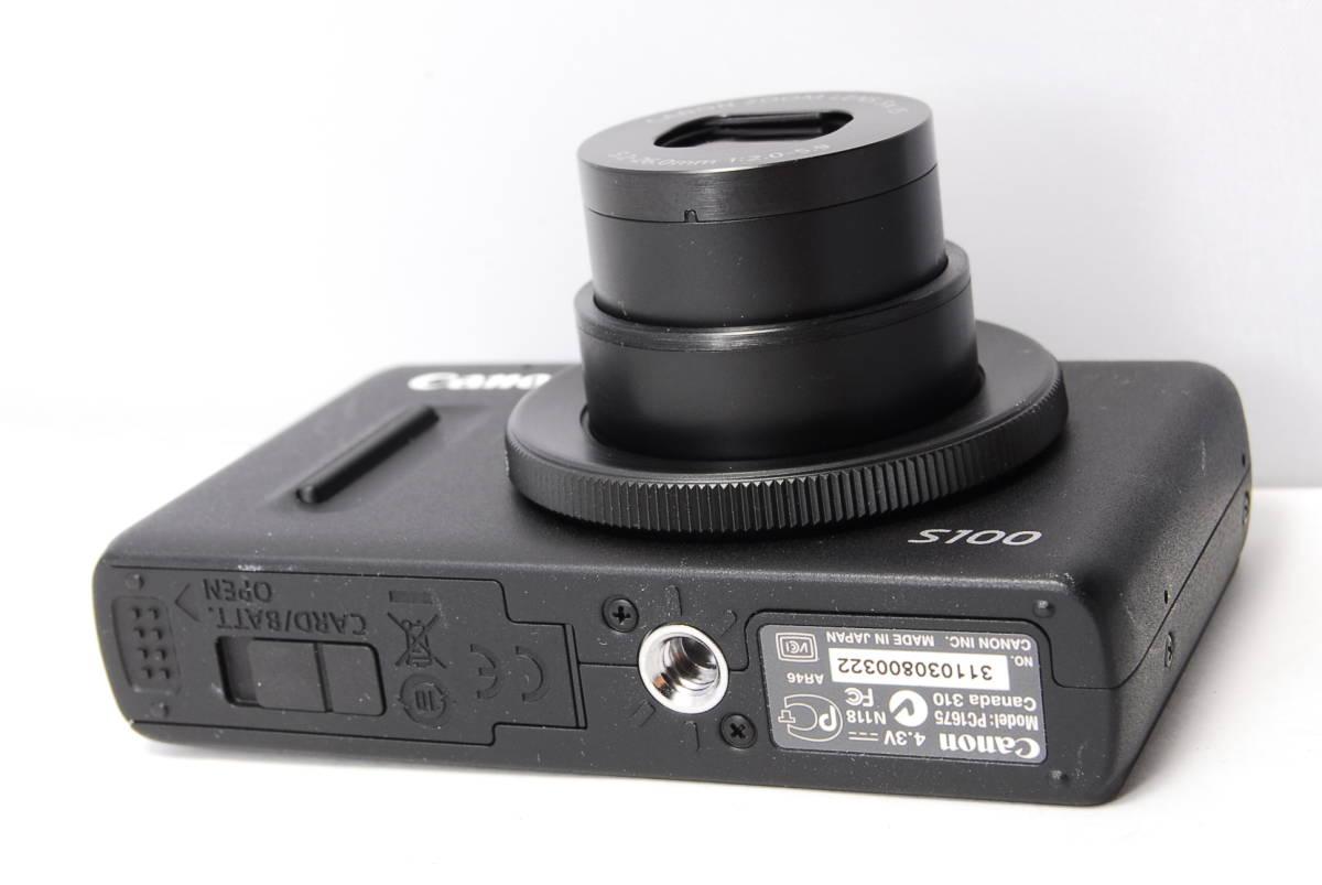〓人気カメラ〓キヤノン Canon PowerShot S100 _画像4