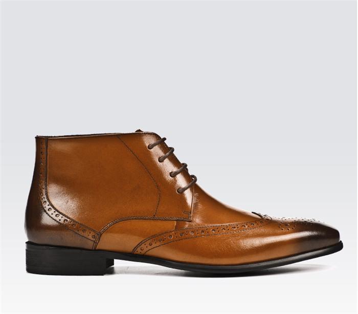 国内希少!高級感満載 総本革レザーマーティンブーツメンズ靴ショートブーツ 貴重品牛革紳士ビジネスシューズ 革靴サイズ選択可_画像3