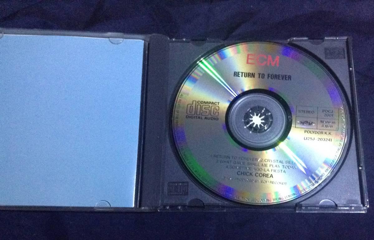 CD chick corea / return to forever チック・コリア PO-2001_画像2