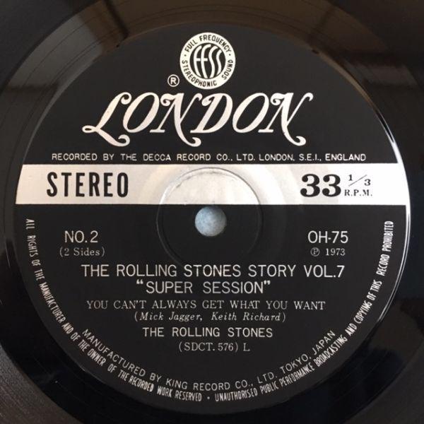 【国内盤】ローリング・ストーンズ / スーパー・セッション【4曲入りコンパクト盤】_画像7