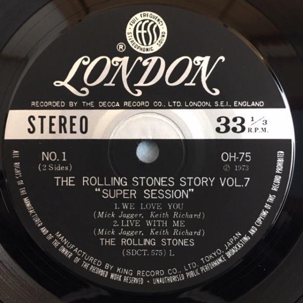 【国内盤】ローリング・ストーンズ / スーパー・セッション【4曲入りコンパクト盤】_画像6
