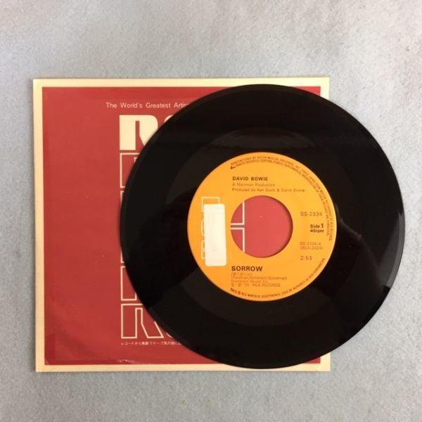 【国内盤】デビッド・ボウイー / 愛の悲しみ【EP】David Bowie / Sorrow_画像4