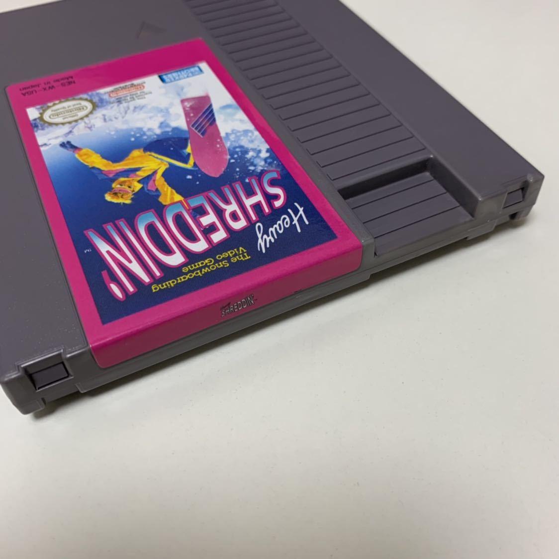 NES 海外 北米版ファミコン 「Heavy SHREDDIN'」 日本未発売 送料185円_画像4
