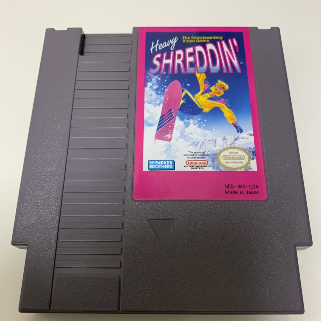 NES 海外 北米版ファミコン 「Heavy SHREDDIN'」 日本未発売 送料185円_画像2
