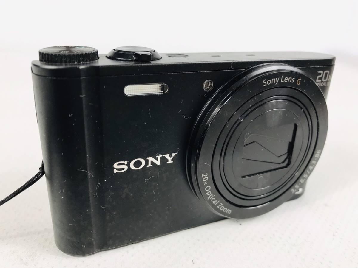 [269]美品 SONY ソニー コンパクト デジタルカメラ デジカメ Cyber shot サイバーショット psc-wx300_画像1