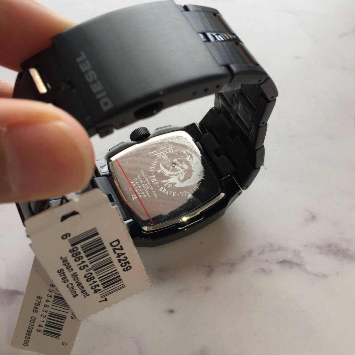 新品[ディーゼル]DIESEL 腕時計 TIMEFRAMES DZ4259_画像3