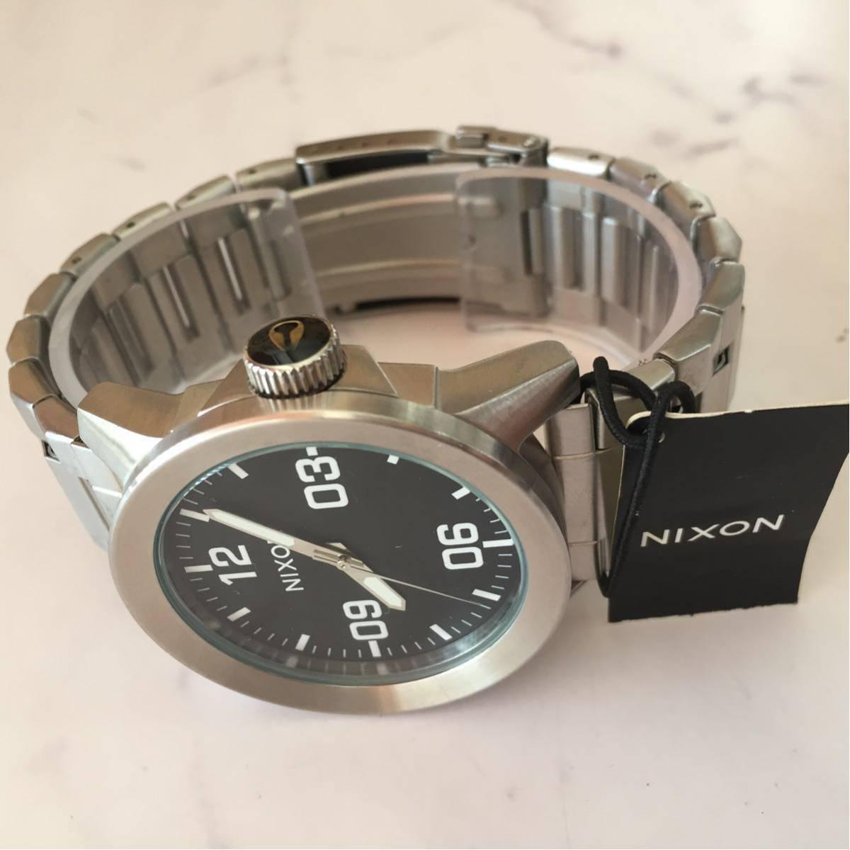 新品箱付き NIXON ニクソン 腕時計 PRIVATE プライベート A276-000 ブラック メタル A276000_画像3