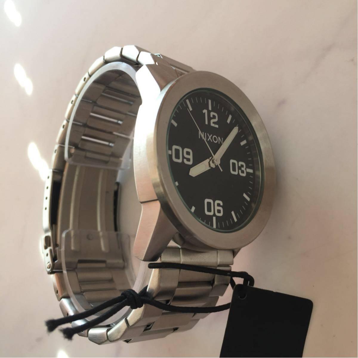 新品箱付き NIXON ニクソン 腕時計 PRIVATE プライベート A276-000 ブラック メタル A276000_画像5