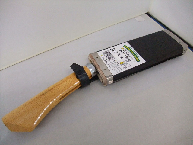 切れるよころび  片刃鉈 鋼付 ナタ なた 165mm ケース付  日本仕上げ_画像1