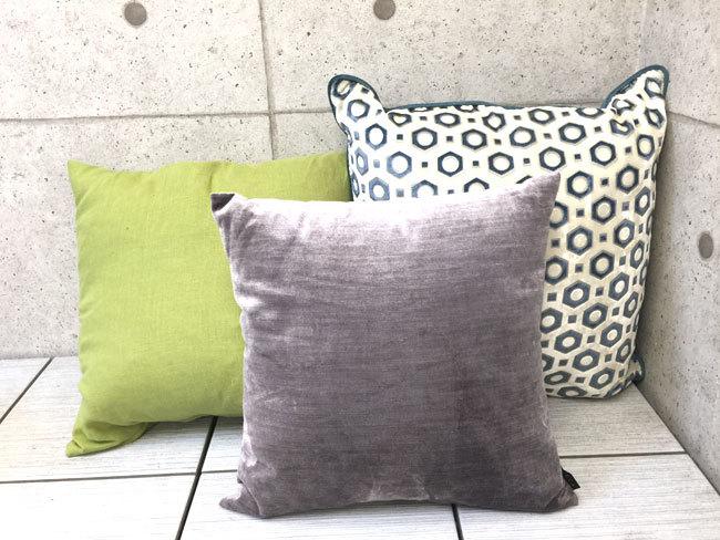 【送料無料】展示品 クッション 4個 イケア IKEA/NEED'K IMECA/ニトリ C406-23