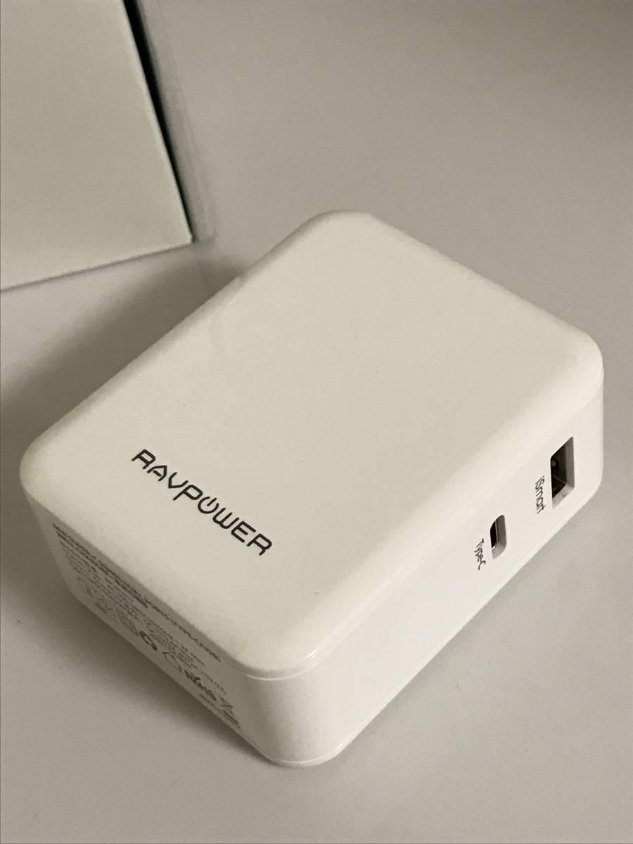 RAVPOWER USB-C PD 36W デュアルポート充電器 RP-PC017_画像3
