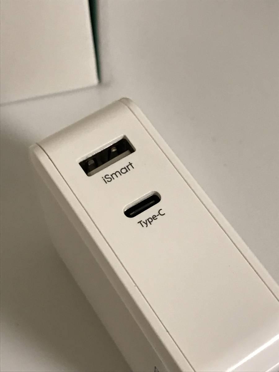 RAVPOWER USB-C PD 36W デュアルポート充電器 RP-PC017_画像2