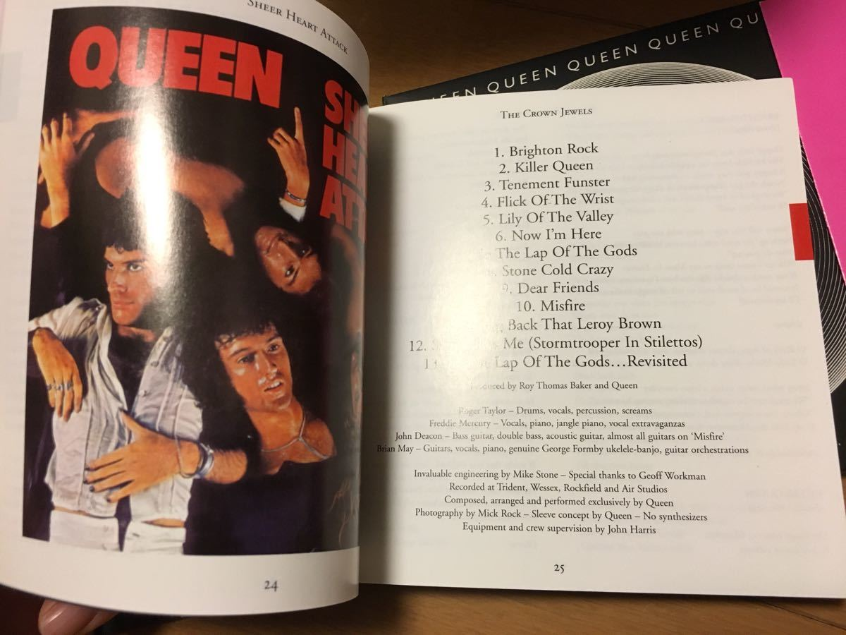 Queen The Crown Jewels: 25th Anniversary Boxed Set (輸入盤 紙ジャケットCD8枚) クイーン ボックスセット CD8枚組_画像5