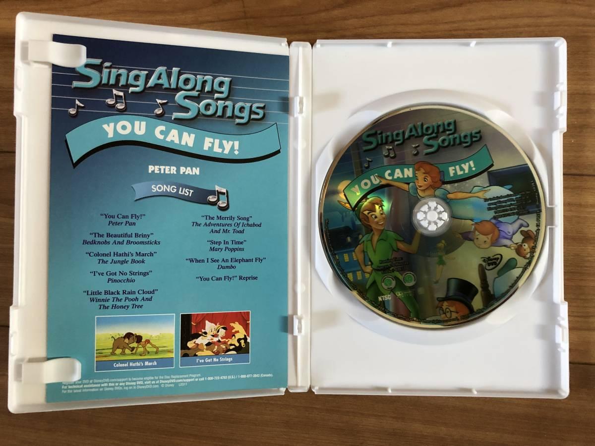■ディズニーミュージカルDVD■Disney Sing Along Songs: YOU CAN FLY(DVD)送料188円_画像3