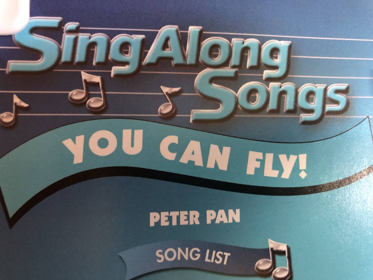 ■ディズニーミュージカルDVD■Disney Sing Along Songs: YOU CAN FLY(DVD)送料188円_画像4