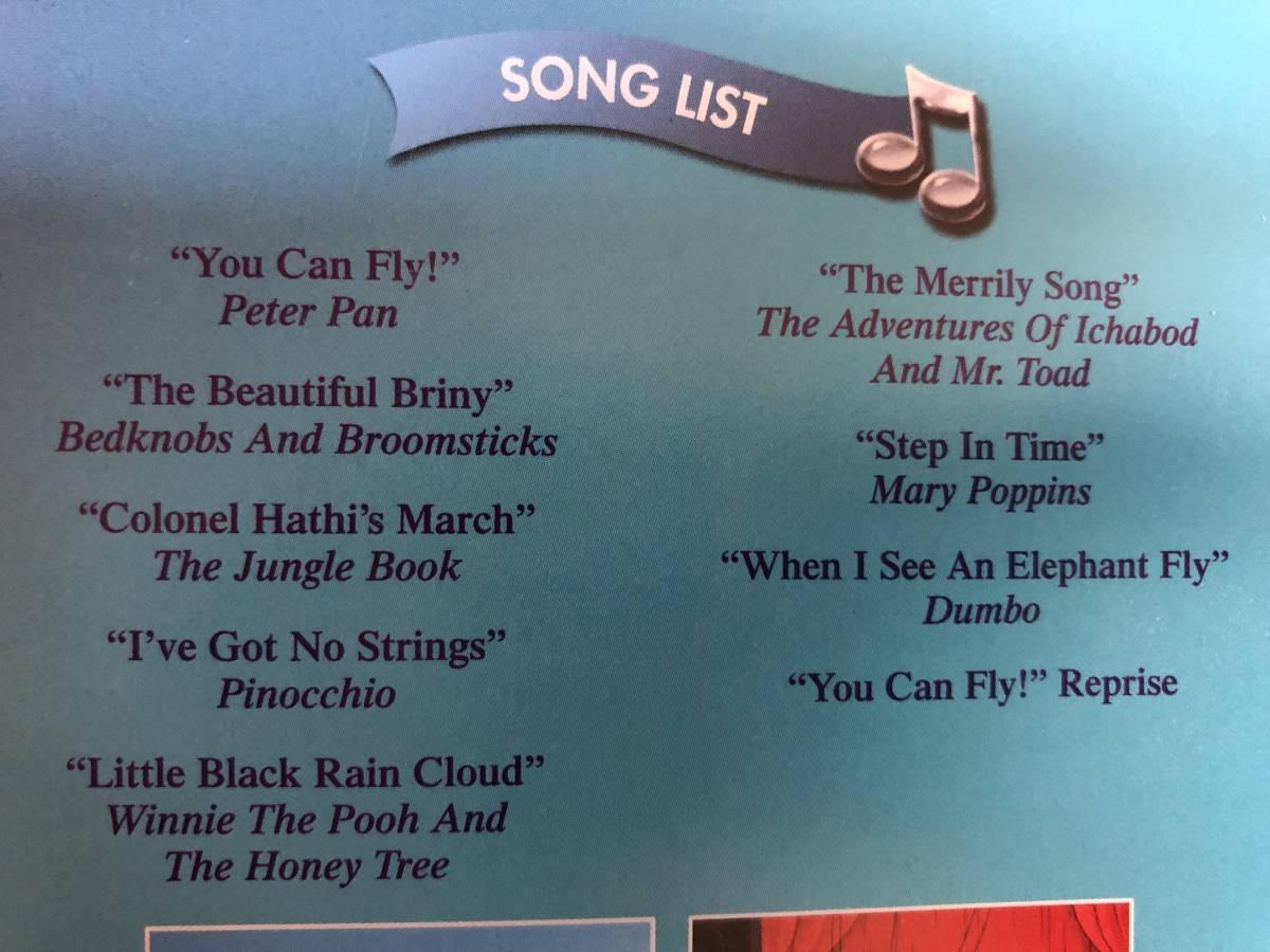 ■ディズニーミュージカルDVD■Disney Sing Along Songs: YOU CAN FLY(DVD)送料188円_画像5