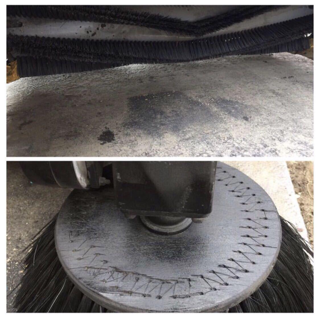 【中古】AMANO クリーンパワー JN-1200HV スイーパー 無動力/動力清掃機 アマノ 工場清掃 路面清掃機 床面清掃機_画像8