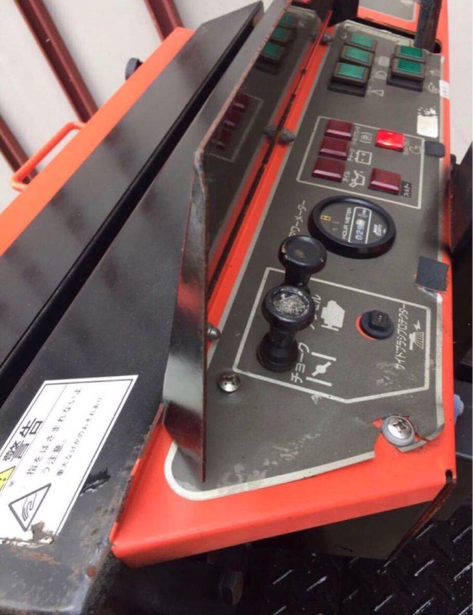 【中古】AMANO クリーンパワー JN-1200HV スイーパー 無動力/動力清掃機 アマノ 工場清掃 路面清掃機 床面清掃機_画像5