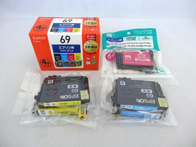 未使用 エプソン用IC4CL69互換4色パック マゼンタ×1シアン×2イエロー×2_画像1