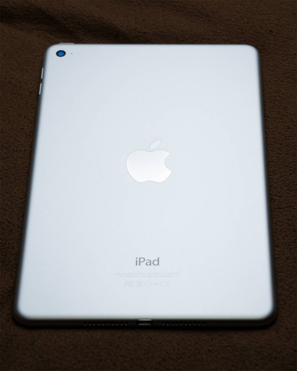 Apple iPad mini4 32GB 【シルバー】 Wi-Fiモデル_画像4