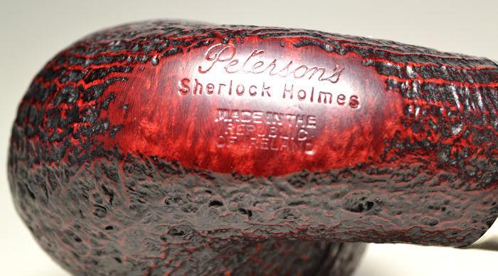 ピーターソン銘品 Peterson's Sherlock Holmes 極上品! 純銀アーミー フルベント_画像5