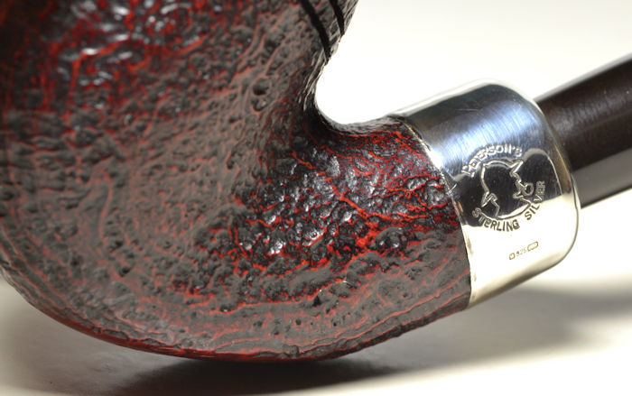 ピーターソン銘品 Peterson's Sherlock Holmes 極上品! 純銀アーミー フルベント_画像4