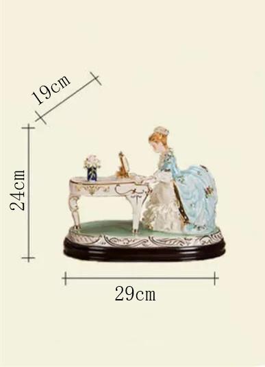 【新品・箱付き】【細密細工 西洋陶磁器】【絶版】【ピアノの置物】【095A2】_画像8