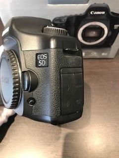 Canon キャノン EOS5D DIGITAL カメラ ボディ 動作品/付属品付_画像5