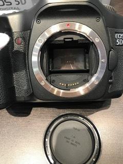 Canon キャノン EOS5D DIGITAL カメラ ボディ 動作品/付属品付_画像3