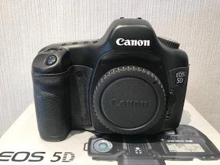 Canon キャノン EOS5D DIGITAL カメラ ボディ 動作品/付属品付_画像2