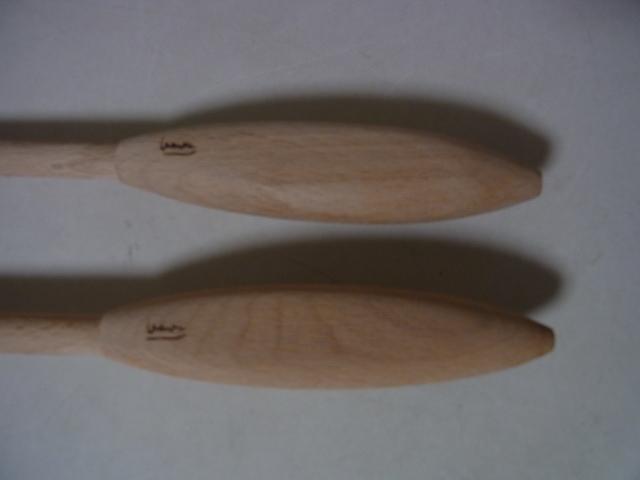サラダフォーク&サラダスプーン 木製 調理器具 展示品 店舗在庫品 未使用品_画像3