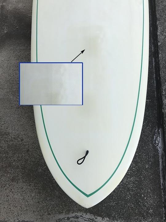 Dewey Weber・STYLISY 9.2f (デューイ ウェーバー スタイリスト 9.2f 美品 フィン・ハードケース付き) 取りに来ていただける方限定!_画像3