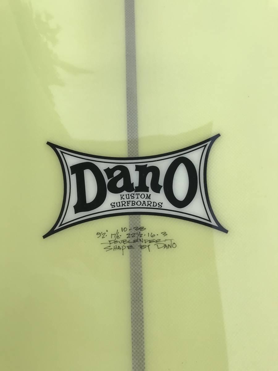 DANO・ダブルエンダー 9.2f (ダノー・ダブルエンダー 9.2f 超美品 フィン・ハードケース付き)_画像9