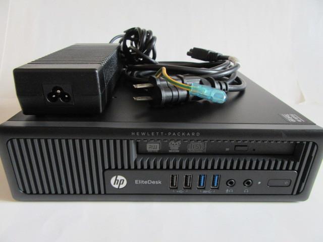 即決★HP EliteDesk 800 G1 USDT 小型★i7-4790S/8G/320G/DVD/Win10 Pro 64bit
