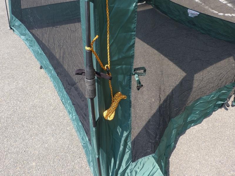 ● LOGOS ロゴス UVクイックスクリーン270 約2分間組み立て! テント クイックスクリーン アウトドア用品 キャンプ用品 中古 ●_画像2