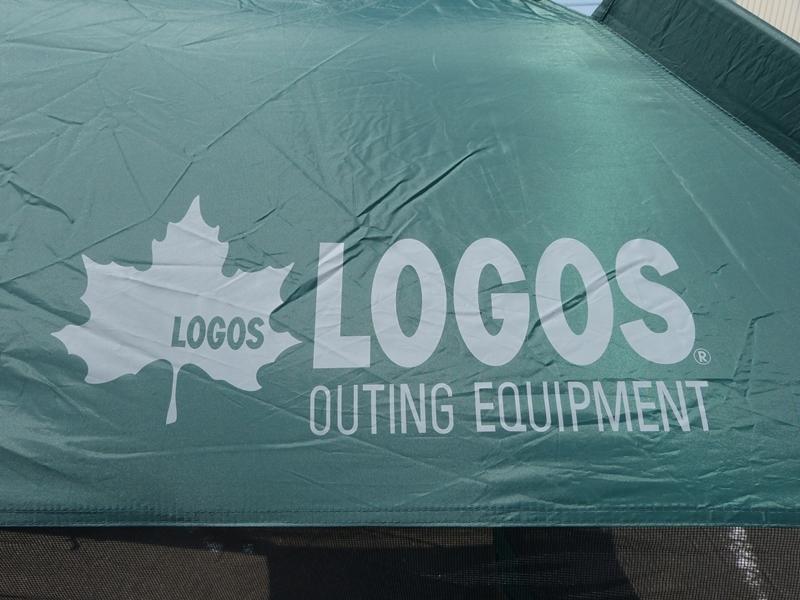 ● LOGOS ロゴス UVクイックスクリーン270 約2分間組み立て! テント クイックスクリーン アウトドア用品 キャンプ用品 中古 ●_画像3