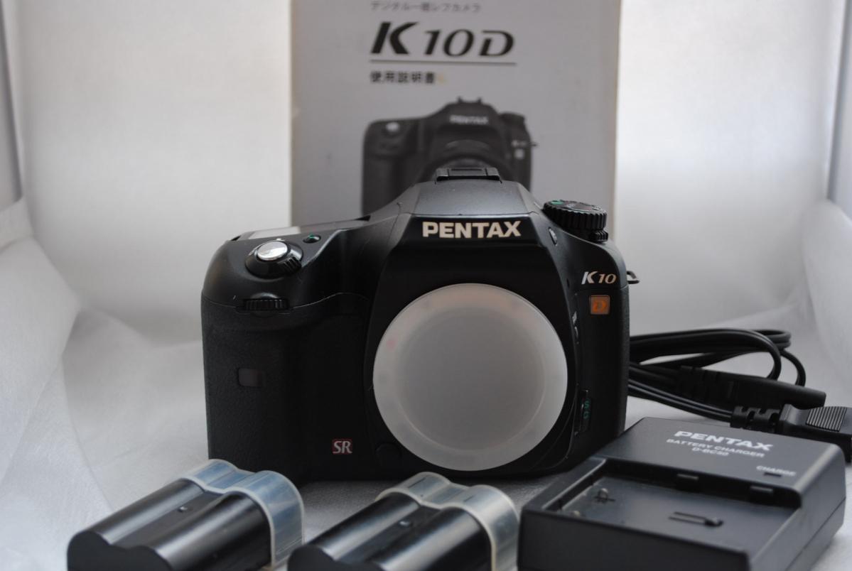 ★ジャンク!1円スタート!最落なし★PENTAX K10D ボディ デジタル一眼レフカメラ