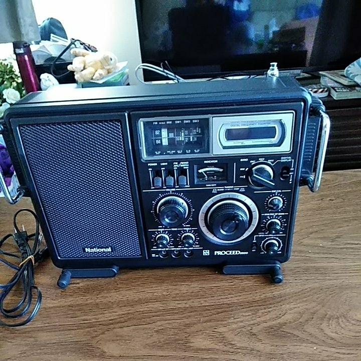 ナショナル プロシード2800 BCL ラジオ 美品 動作品_画像8