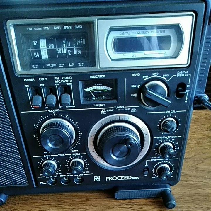 ナショナル プロシード2800 BCL ラジオ 美品 動作品_画像2