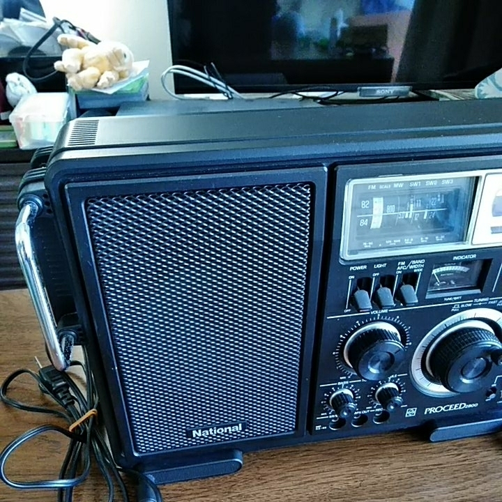 ナショナル プロシード2800 BCL ラジオ 美品 動作品_画像4