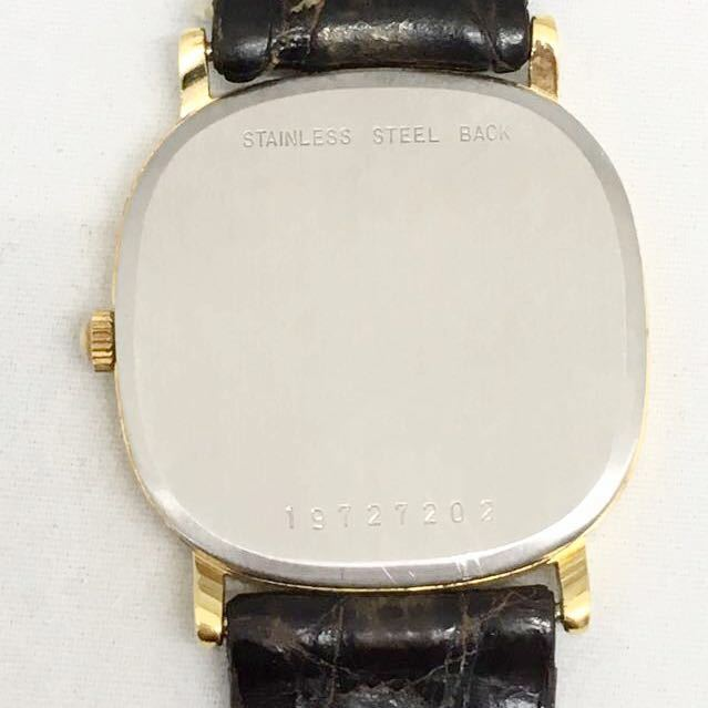 a 必見 ! 中古品 電池切れ 動作未確認 現状渡し ロンジン LONGINES クォーツ メンズ 腕時計 !_画像3