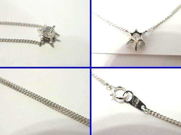 ○新品同様 一粒 ダイヤ 0.609ct プラチナ Pt900 ネックレス 3.8g N0015_画像3