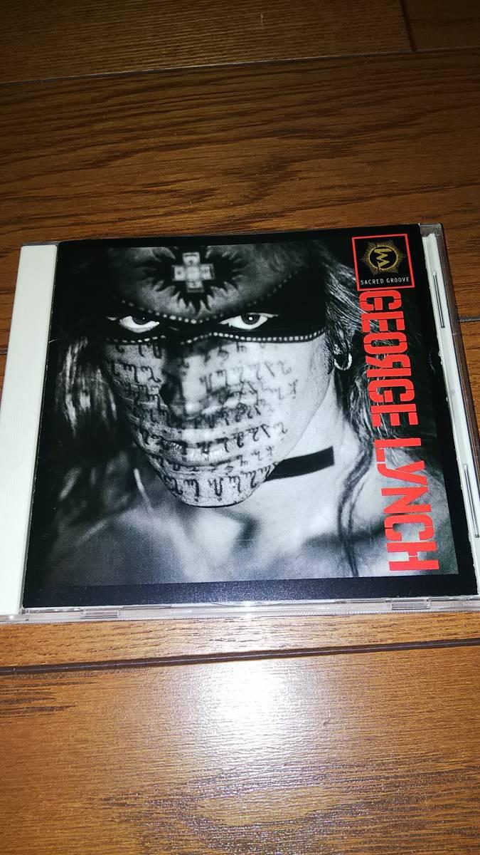 国内盤CD ジョージ・リンチ セイクレッド・グルーウ゛ 帯なし GEORGE LYNCH_画像1
