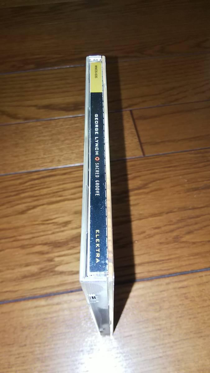 国内盤CD ジョージ・リンチ セイクレッド・グルーウ゛ 帯なし GEORGE LYNCH_画像3
