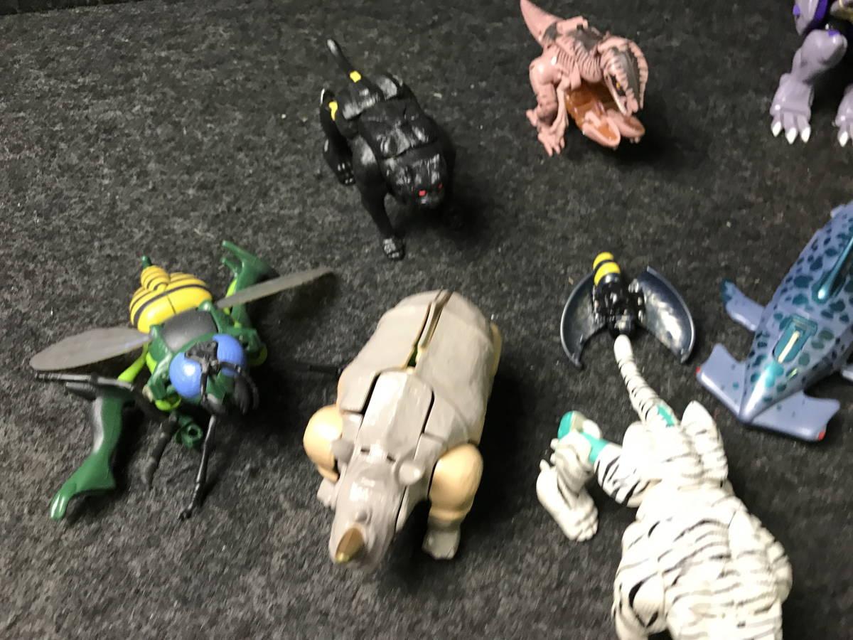 4-167 ビーストウォーズ? トランスフォーマー? 11点 まとめ売り おもちゃ 玩具 趣味 コレクション toy ジャンク 現状品_画像4