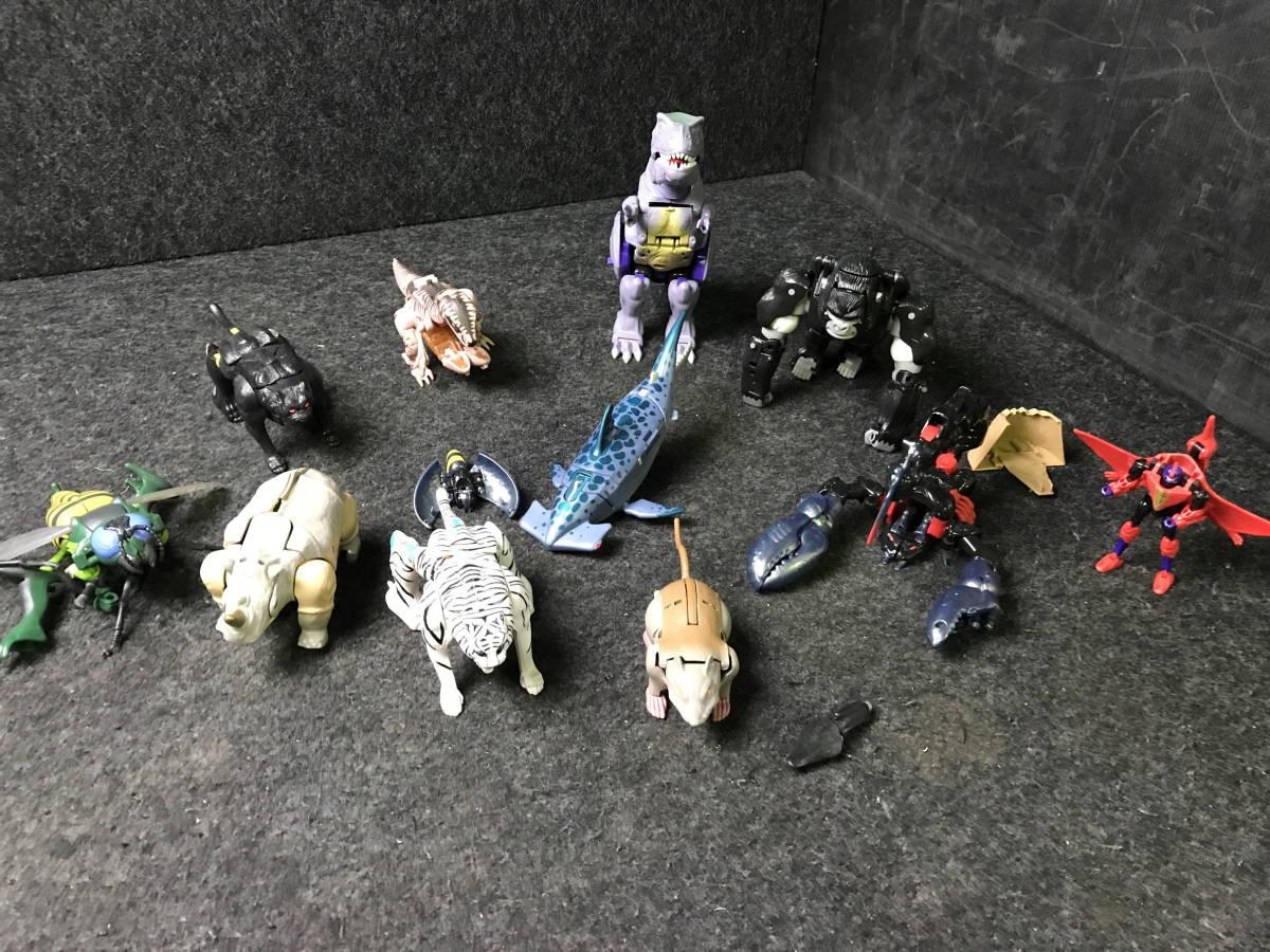 4-167 ビーストウォーズ? トランスフォーマー? 11点 まとめ売り おもちゃ 玩具 趣味 コレクション toy ジャンク 現状品